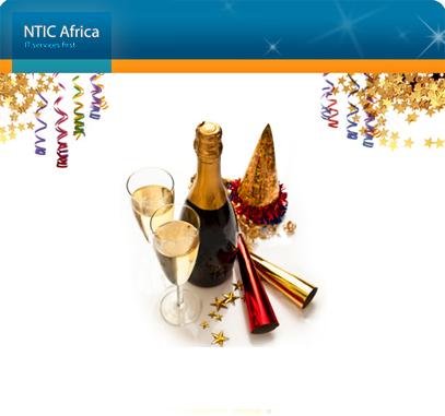 NTIC Africa vous souhaite Bonne et Heureuse Année ! wish you Happy New Year